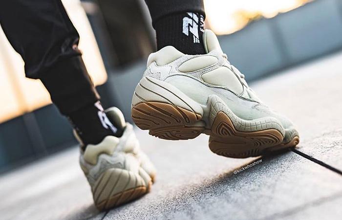 adidas Yeezy Boost 500 Stone FW4839 on foot 03