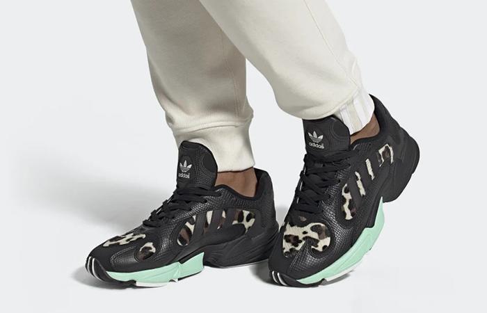 adidas Yung-1 Mint Black FV6448 on foot 01
