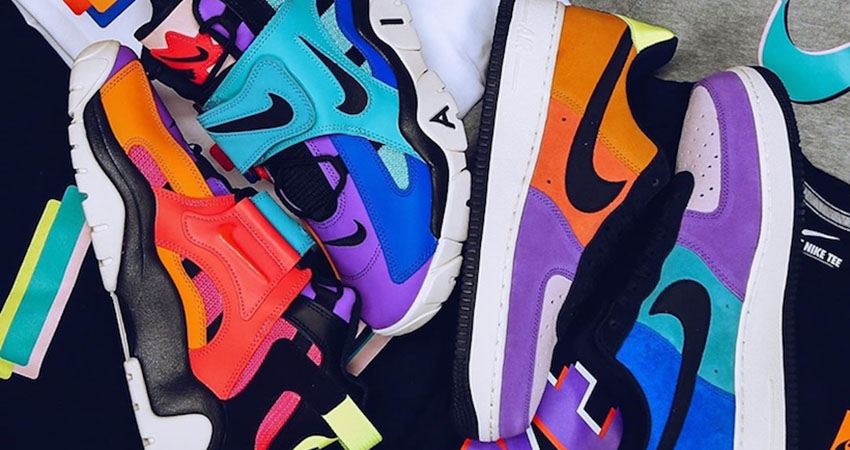 atmos And Nike Teamed Up For The Air Force 1 POP THE STREET