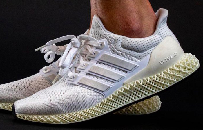 A Closer Look At The adidas Ultra 4D Pearl White ft