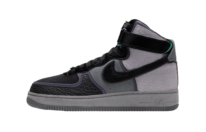 A Ma Maniere Nike Air Force 1 High Black CT6665-001 01