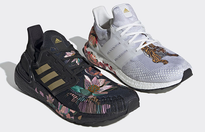 Adidas Ultraboost Capsule Coming With Floral Embroidery! ft