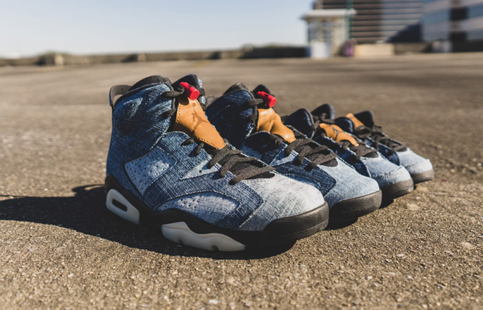 Air Jordan 6 Washed Denim Coming With Full Family Size ft