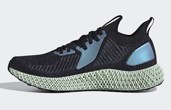 Another adidas AlphaEdge 4D Metallic Silver Black On Its Way ft