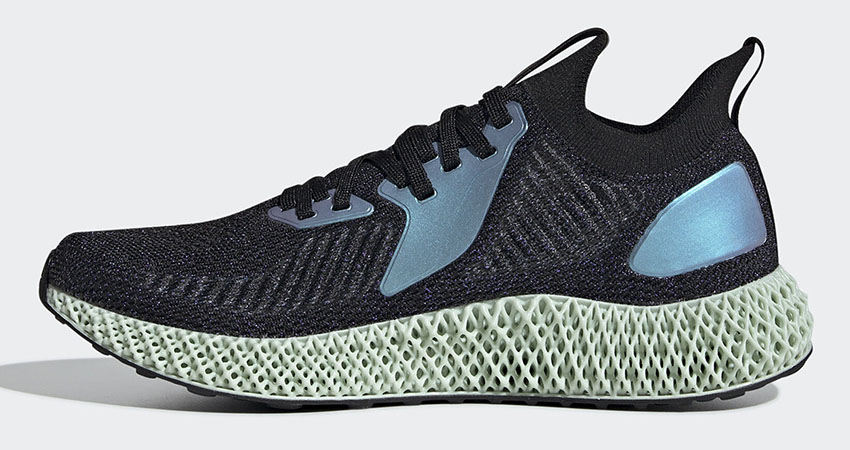 Another adidas AlphaEdge 4D Metallic Silver Black On Its Way