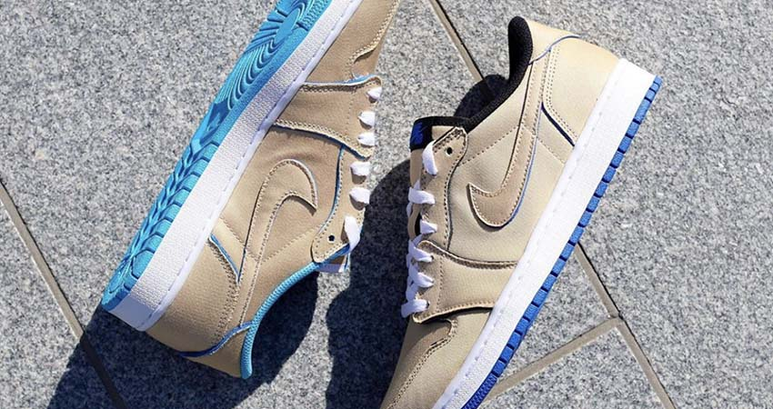 Closer Look At The Nike SB Air Jordan Low Cream Sky 02