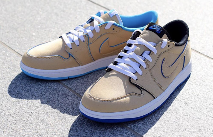 Closer Look At The Nike SB Air Jordan Low Cream Sky ft