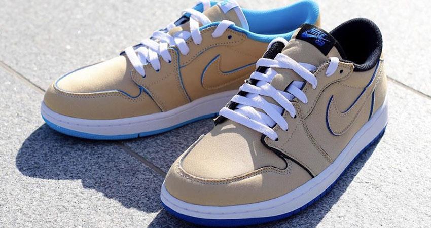 Closer Look At The Nike SB Air Jordan Low Cream Sky