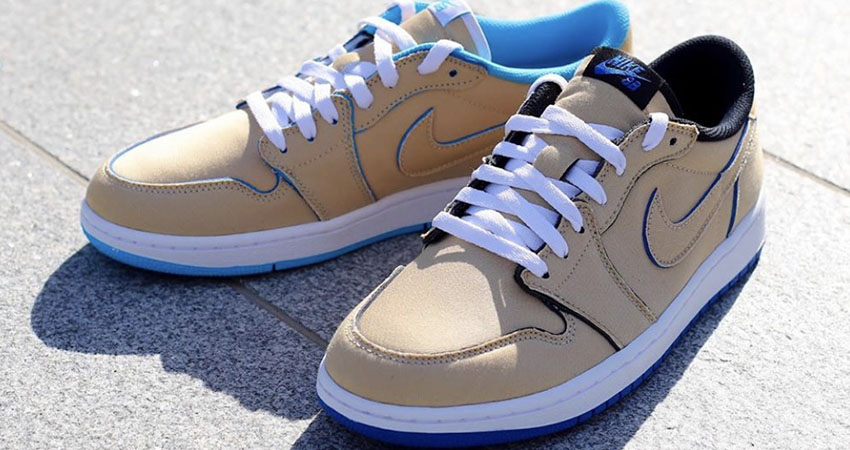 Closer Look At The Nike SB Air Jordan Low Cream Sky