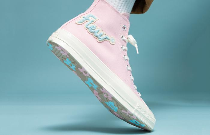 Converse Chuck 70 Golf le Fleur Almond Blossom 167478C on foot 02