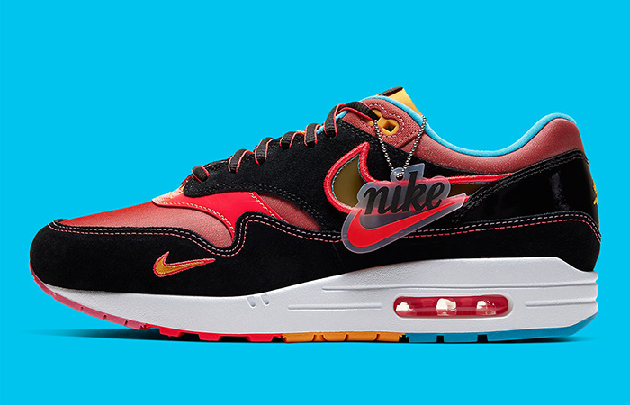Have a First Look At Nike Air Max 1 Chinese New Year Black Fire ft