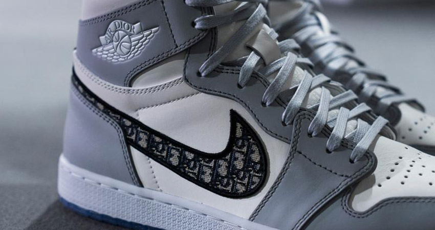 Here Is The First Look At The Dior Air Jordan 1 High Grey White 01