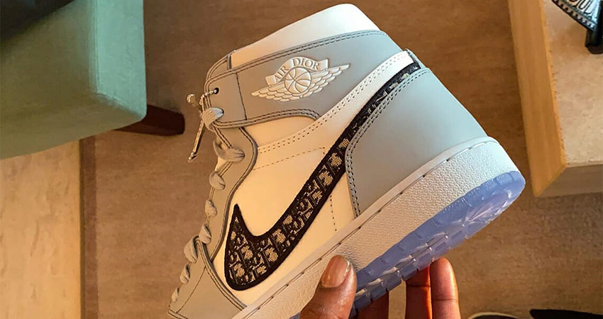 Here Is The First Look At The Dior Air Jordan 1 High Grey White 02