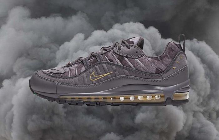 Kylian Mbappe Nike Air Max 98 is Essential Gunsmoke Sneaker ft