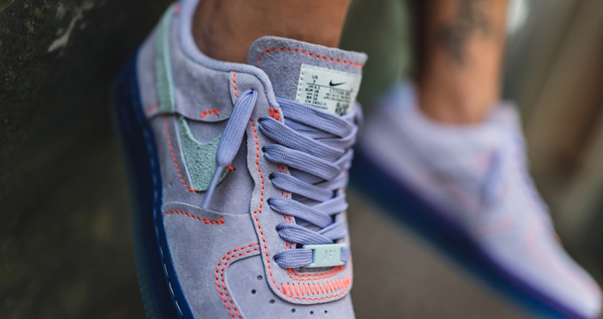 Nike Air Force 1 07 Receives A Purple Agate Colorways 01