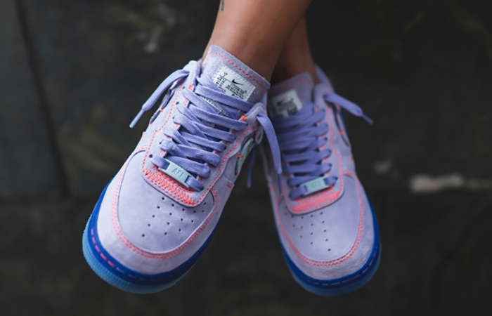 Nike Air Force 1 07 Receives A Purple Agate Colorways ft
