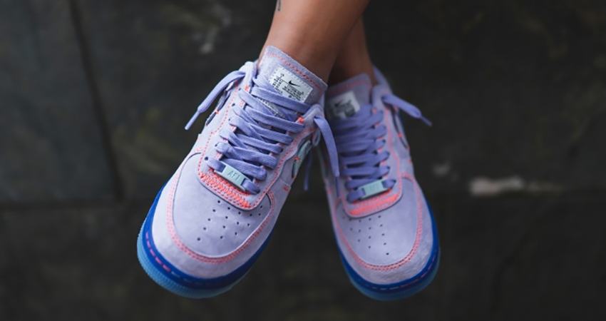 Nike Air Force 1 07 Receives A Purple Agate Colourway </p>                     </div> 		  <!--bof Product URL --> 										<!--eof Product URL --> 					<!--bof Quantity Discounts table --> 											<!--eof Quantity Discounts table --> 				</div> 				                       			</dd> 						<dt class=