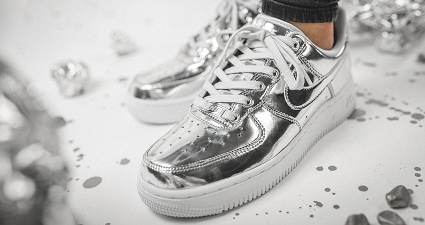 Nike Air Force 1 Adds Two Metallic Bolds For Womens!! 04