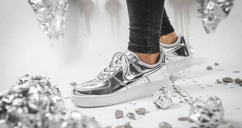 Nike Air Force 1 Adds Two Metallic Bolds For Womens!!