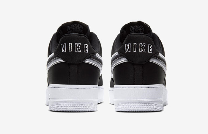 Nike Air Force 1 Low White Black CD0886-001 05