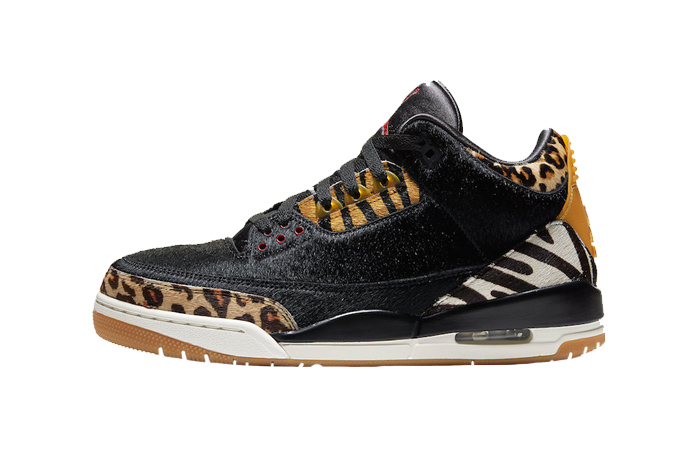 Nike Air Jordan 3 Animal Instinct Black Mocha CK4344-002 01