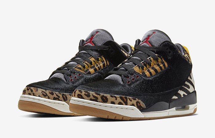 Nike Air Jordan 3 Animal Instinct Black Mocha CK4344-002 02