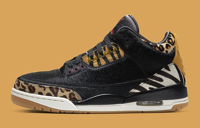 Nike Air Jordan 3 Animal Instinct Black Release Date Is So Closer ft