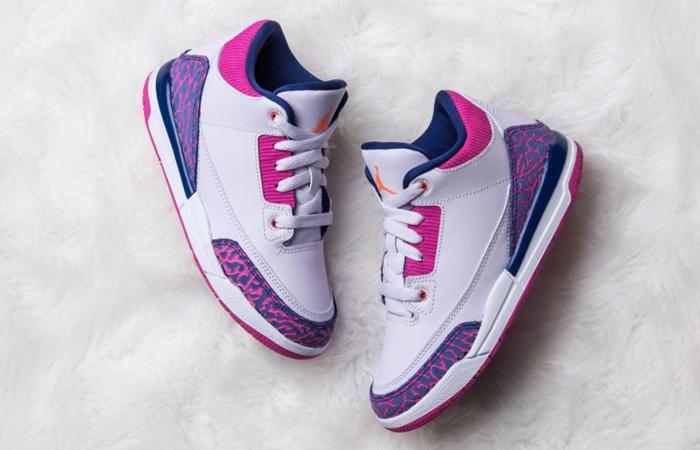 Nike Air Jordan 3 Barely Grape Releasing Soon! ft