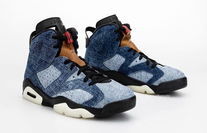 Nike Air Jordan 6 Washed Denim CT5350-401 05