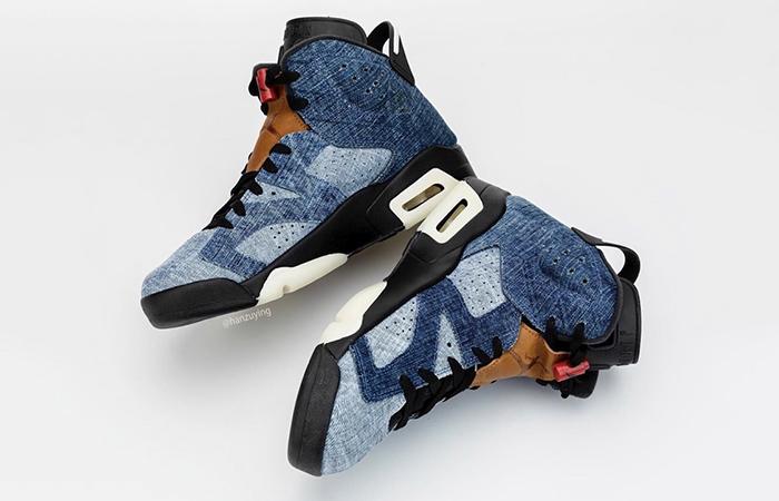 Nike Air Jordan 6 Washed Denim CT5350-401 07