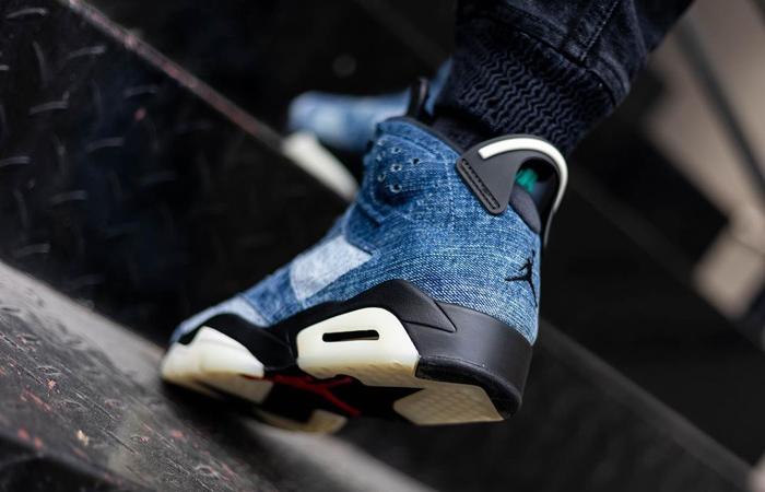 Nike Air Jordan 6 Washed Denim CT5350-401 on foot 03