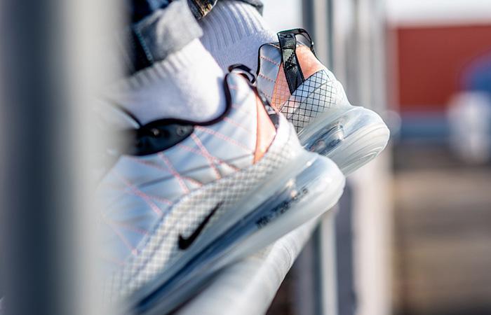 Nike Air Max 720-818 Metallic Silver BV5841-001 on foot 03