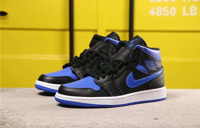 Nike Jordan 1 Mid Black Royal Blue 554724-068 03