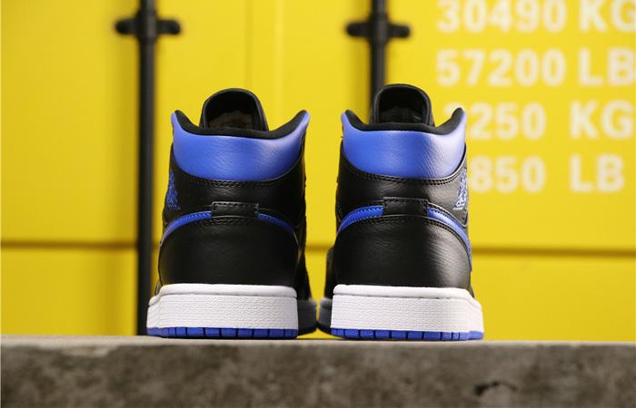 Nike Jordan 1 Mid Black Royal Blue 554724-068 04