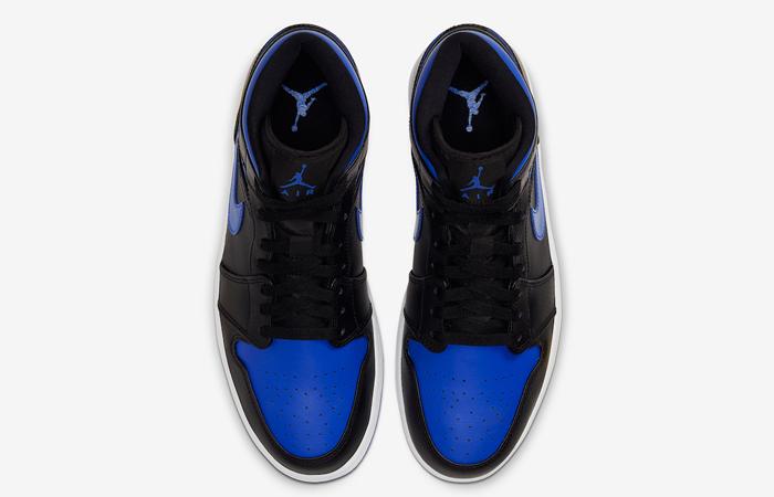 Nike Jordan 1 Mid Black Royal Blue 554724-068 07