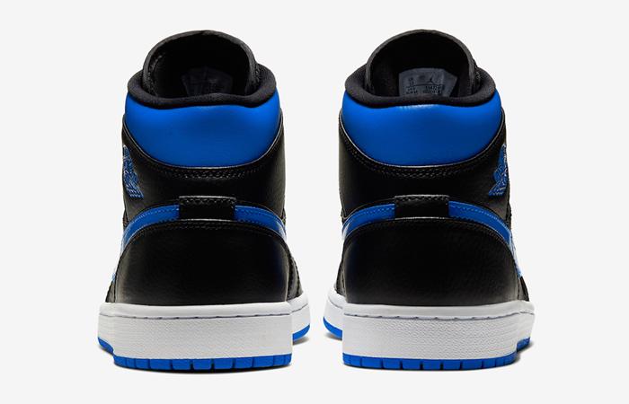 Nike Jordan 1 Mid Black Royal Blue 554724-068 08