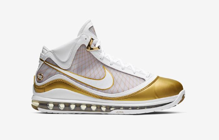Nike LeBron 7 Gold White CU5646-100 03