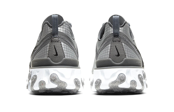 Nike React Element 55 Quilted Grids Grey CI3835-001 04