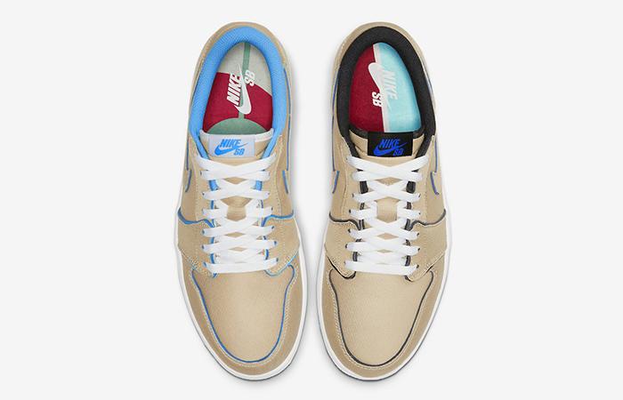 Nike SB Air Jordan Low Cream Sky CJ7891-200 06