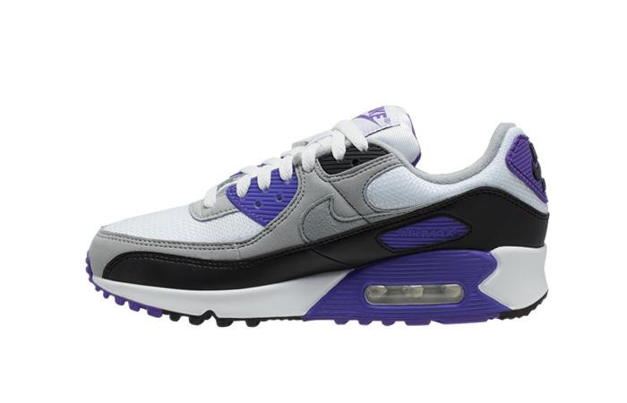Nike Womens Air Max 90 Purple Grey CD0490-103 01