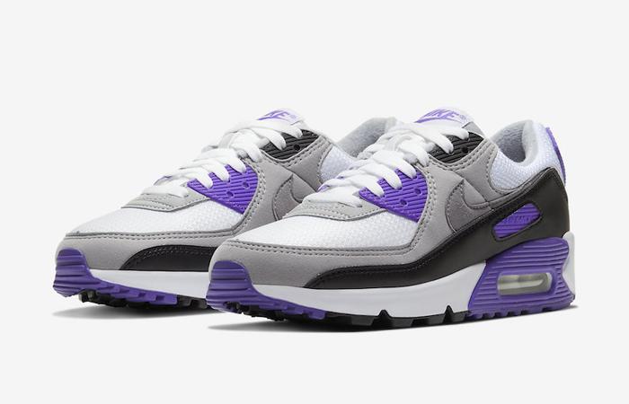 Nike Womens Air Max 90 Purple Grey CD0490-103 02