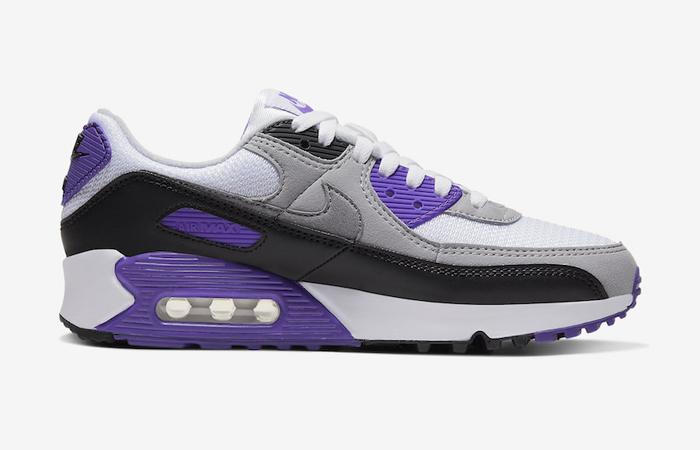 Nike Womens Air Max 90 Purple Grey CD0490-103 03
