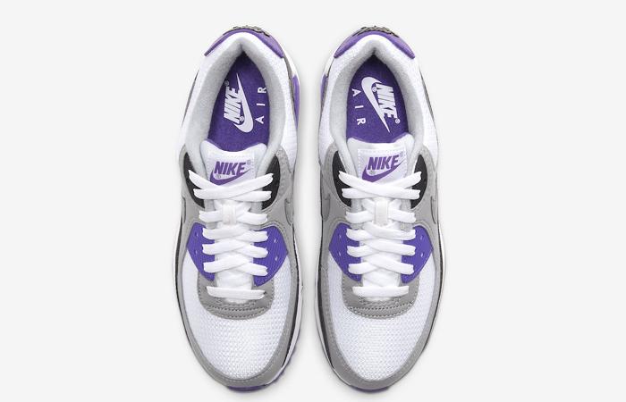 Nike Womens Air Max 90 Purple Grey CD0490 103