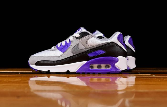 Nike Womens Air Max 90 Purple Grey CD0490-103 06