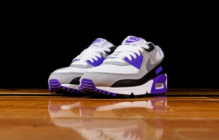 Nike Womens Air Max 90 Purple Grey CD0490-103 07