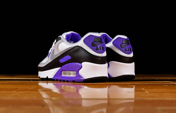 Nike Womens Air Max 90 Purple Grey CD0490-103 08