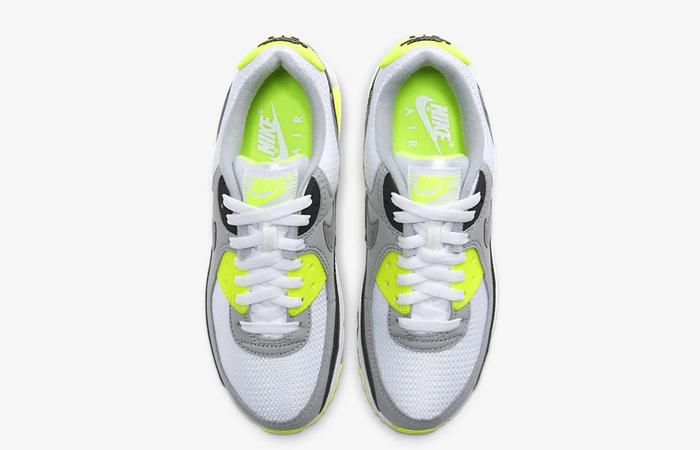 Nike Womens Air Max 90 Yellow Grey CD0490-101 04