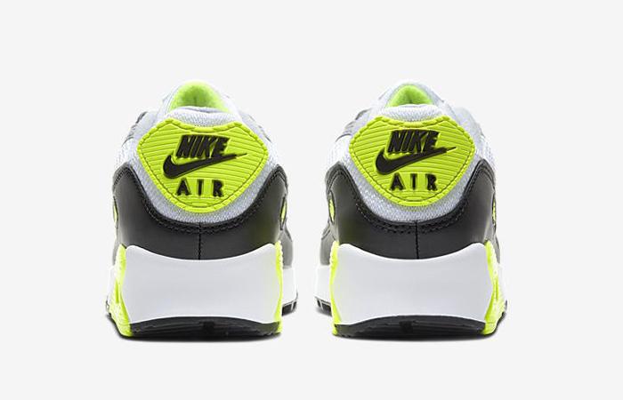 Nike Womens Air Max 90 Yellow Grey CD0490-101 05