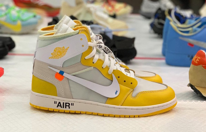 Off White Nike Air Jordan 1 Canary Yellow Will Release Next Year ft