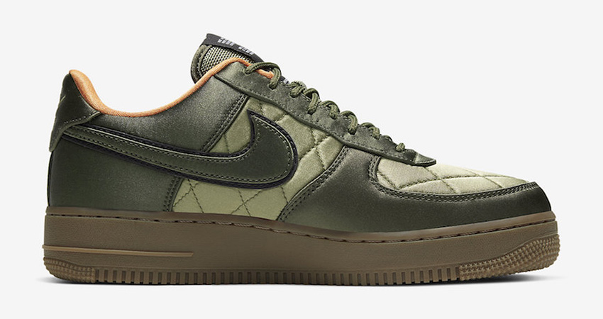 Official Images At The Nike Air Force 1 Low Quilted Olive 02
